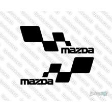 Lipdukas - Mazda racing 2 vnt.