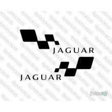 Lipdukas - Jaguar racing 2 vnt.