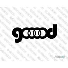 Lipdukas - Audi gooood