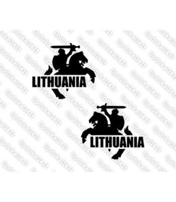 Lithuania - Vytis (siluetas) komplektas 2 vnt.