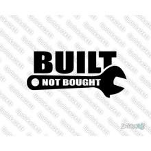 Lipdukas - Built Not Bought