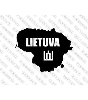 Lietuvos siluetas - Lietuva