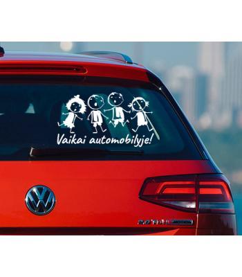 Vaikai automobilyje 5