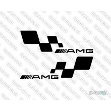 Lipdukas - AMG racing 2 vnt.