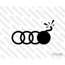 Lipdukas - Audi bomba