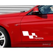 Lipdukas - Toyota racing 1 vnt.