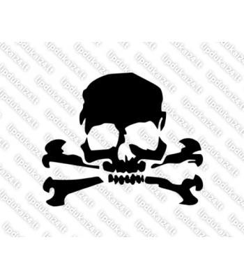 Kaukolė su kaulais 4