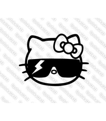 Hello Kitty su akiniais