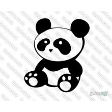 Lipdukas - Sitting Panda