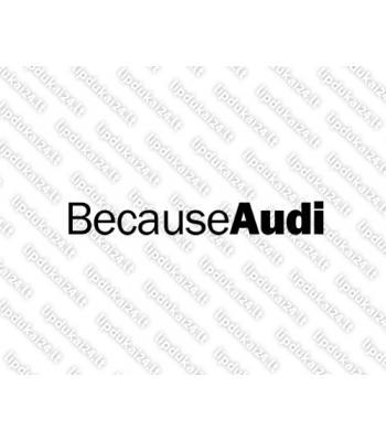 Because Audi