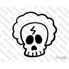 Lipdukas - Kaukolė animacinė 32