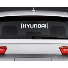 Lipdukas - Hyundai in brackets