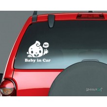 Lipdukas - Baby in Car 2