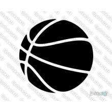 Lipdukas - Krepšinio kamuolys