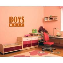 Lipdukas - Boys only 2