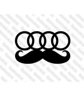Audi mustache
