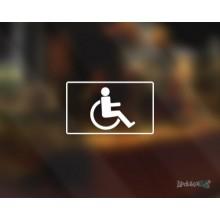 Lipdukas - WC neįgaliųjų