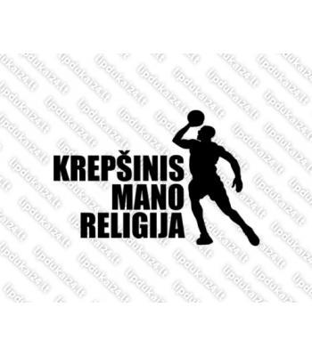 Krepšinis mano religija 3 jb