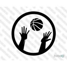 Lipdukas - Krepšinio kamuolys 2