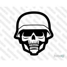 Lipdukas - Kaukolė kareivio 29