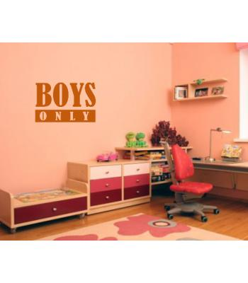 Boys only 2