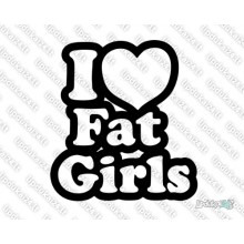 Lipdukas - I Love Fat Girls