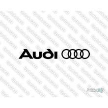 Lipdukas - Audi ženklas
