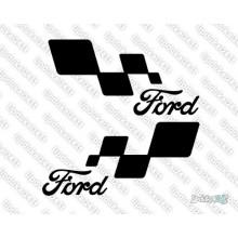 Lipdukas - Ford racing 2 vnt.