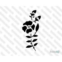 Lipdukas - Gėlė 17