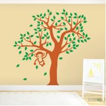 Lipdukas - Bezdžionėlė medyje