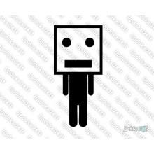 Lipdukas - Box Head Man