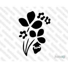 Lipdukas - Gėlė 18