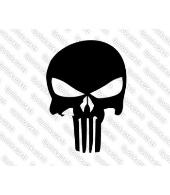 Punisher skull black