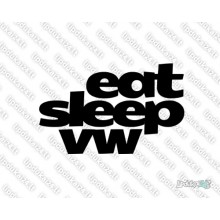 Lipdukas - Eat sleep vw