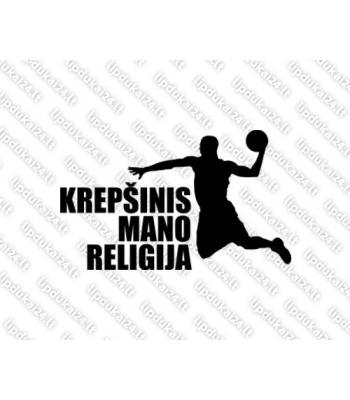 Krepšinis mano religija